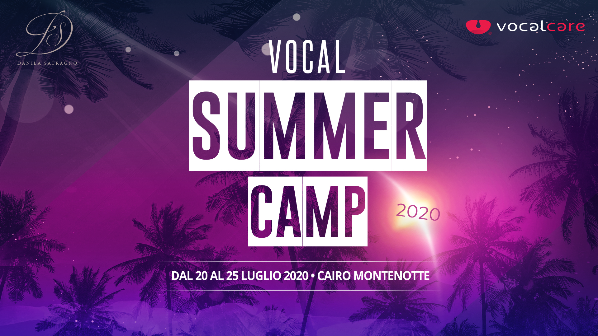 VOCAL CAMP ONLINE - lesson 2h30